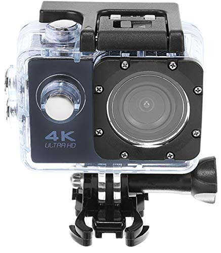 ISO TRADE Action Cam 4K waterdichte 30M onderwater Action Camera Ultra HD 170° groothoek 9101