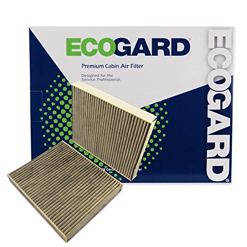 ECOGARD XC36204C Premium Cabin Air Filter with Activated Carbon Odor Eliminator Fits BMW 528i 2011-2016, 535i 2011-2016, 535i xDrive 2011-2016, 528i xDrive 2012-2016, 550i 2011-2016