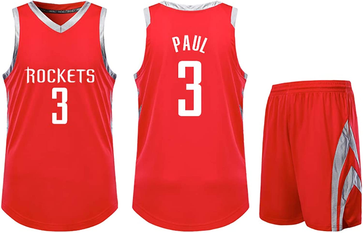 NB Paul  3 Jersey  Classic Sleeveless Set,James A Jersey, Men's Basketball and Unisex Basket Set TShirt WYTIAO