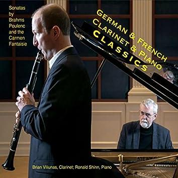 French & German Clarinet & Piano Classics