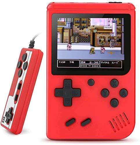 ポータブルゲーム機 レトロゲーム機 エミュレーター ミニ携帯ゲーム機 内蔵ゲーム機 500 IN 1 対戦ゲームパ...