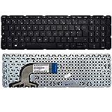 DNX Clavier Français FR sans Cadre pour Ordinateur PC Portable HP Pavilion 15-n035sf, Neuf Garanti 1 an, Note-X Livraison Gratuite
