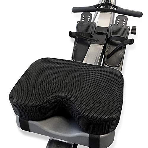 POHOVE Rudermaschinen-Sitzkissen passt perfekt über Concept-2, mit rutschfestem, dickerem Memory-Schaum und waschbarem Cove r, funktioniert auch hervorragend für Heimtrainer, stationärer Fahrräder