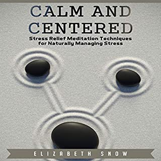 Calm and Centered audiobook cover art