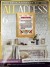 Anita Goodesign All Access VIP Club May 2017 Embroidery Machine Design CD & Book