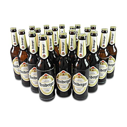 Freiberger Pils (20 Flaschen à 0,5 l / 4,9% vol.)