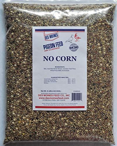 No Corn Regular Pigeon Mix (13%) 8 lbs