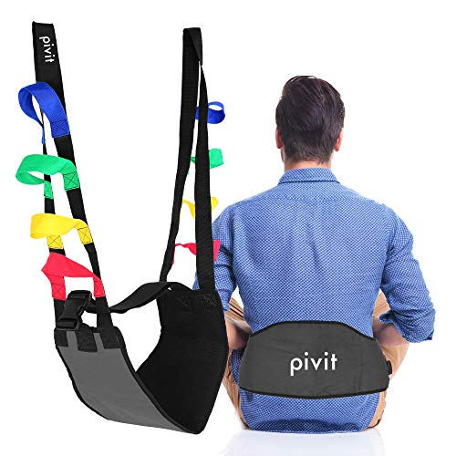 Pivit Stand Assist Buttock Strap, 400 lbs | One Size Fits Most Use with Any Sit and Stand Assist Lift | Provides Guaranteed Safer Transfers Lifting and Toileting | Regain Mobility Freedom and Dignity