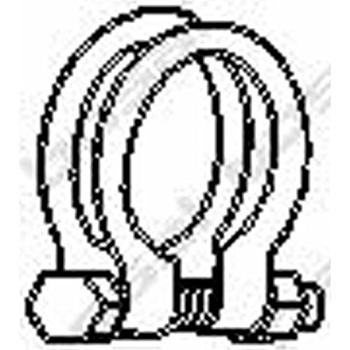 Bosal 250-451 Pièce de serrage, échappement