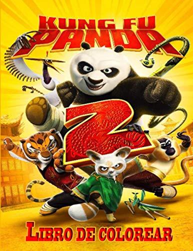 Kung fu panda libro de colorear