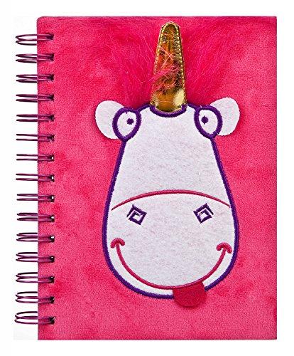 Undercover mnfl0591Minions: Cuaderno de Espiral (con Peluche, Fluffy, A5