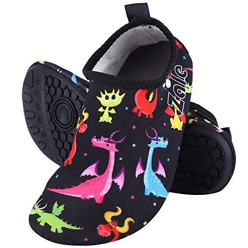 VGEBY kinderen strandschoenen, jongens M Sport Aqua schoenen Barfu? Schoenen baby sportschoenen surfschoenen badschoenen voor strandpool surfen yoga (26-27)