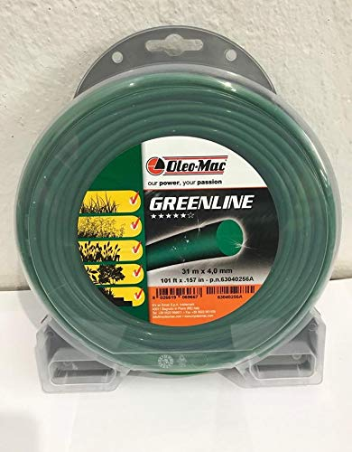 Oleo Mac - Hilo desbrozadora Redondo de 4,0 mm GreenLine