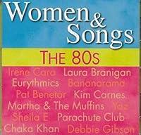 1980s 80s Women & Songs
