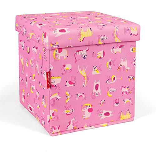 Reisenthel ABC Friends sitbox pink 27 L