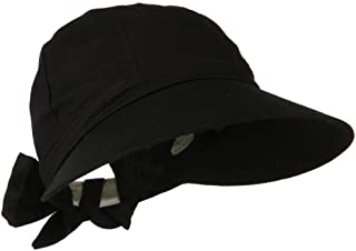Jfh Women's Classic Quintessential Sun Wide Visor Golf Hat