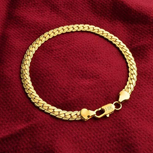 FUKAI Fashion Gold-plated Ladies Bracelet Birthday Gift Anniversary Party Unisex High-end Jewelry Accessories