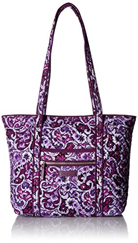 Vera Bradley womens Bag Vera Bradley Women s Signature Cotton Small Vera Tote Totes Lilac Paisley One Size, Lilac Paisley, One Size US