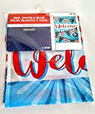 Ashland Welcome Red White and Blue Garden Flag 12x18(MSRP 9.99)