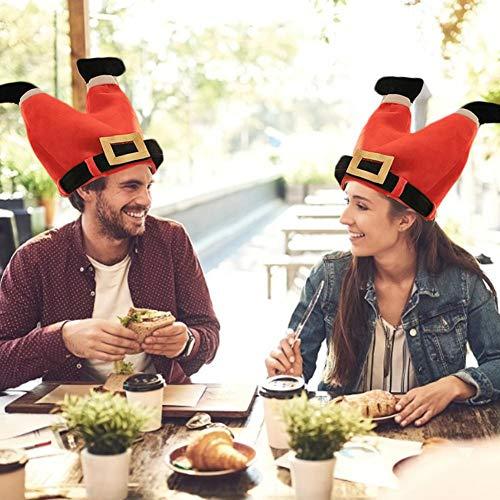 lembrd Zingende en dansende kerstmuts - pluche knuffeldier grappige kippentje Turkije verstelbare hoed - verjaardagscadeau voor kinderen en volwassenen