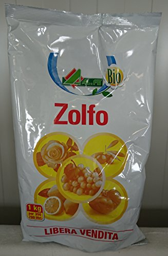1kg. zolfo 92% bagnabile oidio mal bianco ticchiolatura vite antioidico