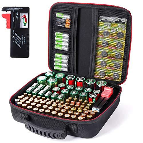 Batteriebox, Batterie Aufbewahrungsbox...