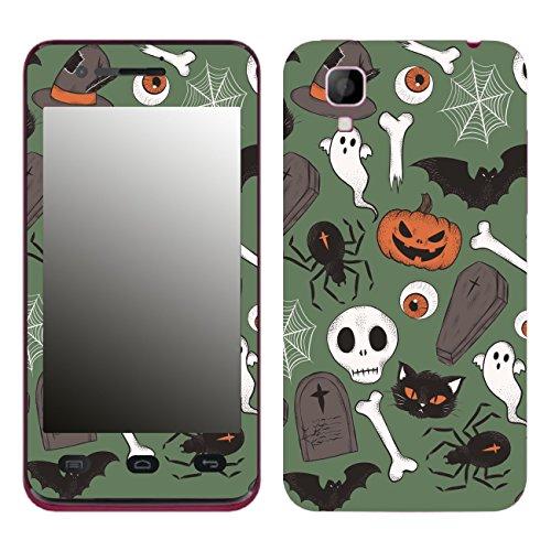 Disagu SF-106204_1211 Design Folie für Wiko Sunset - Motiv Halloweenmuster 03