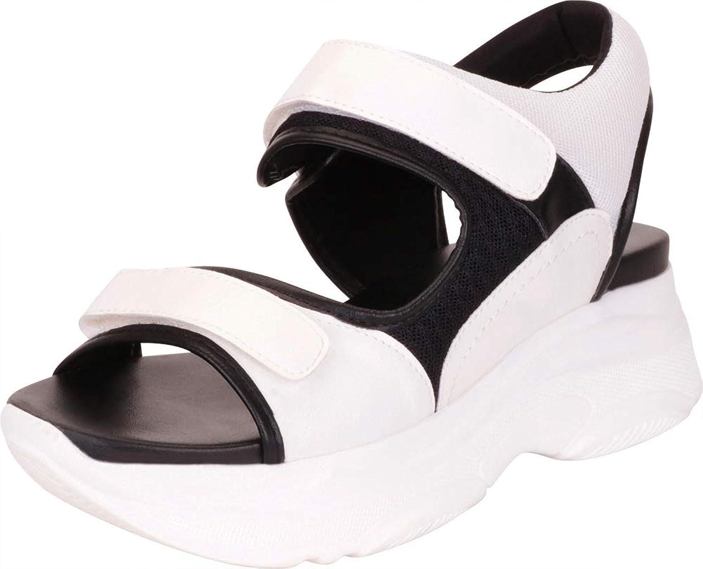 Cambridge Select Women's Retro 90s Ugly Dad Chunky Platform Casual Sport Sandal