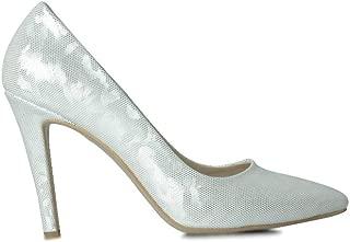 Loggalin 520207 323 Kadın Beyaz Stiletto 43