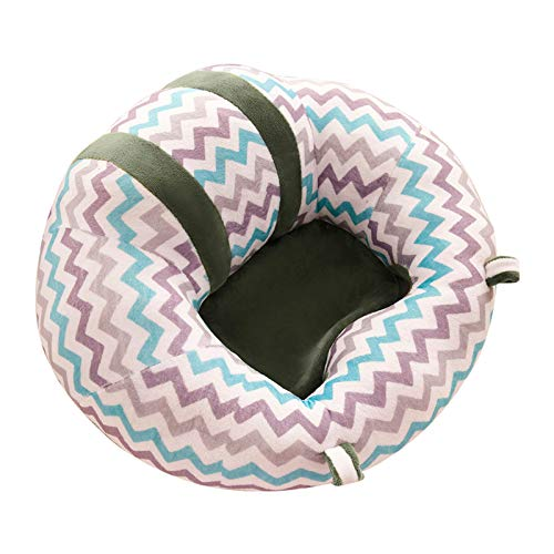 Glomixs Baby Support Seat Plush Soft Baby Sofa Infant Learning to Sit Chair Comfortable