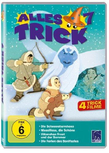 Alles Trick 7 (Die Schneesturmhexe; Die Reise des Bonifazius; Aschenbrödel; Wassilissa die Schöne; Das eingebildete Häschen)