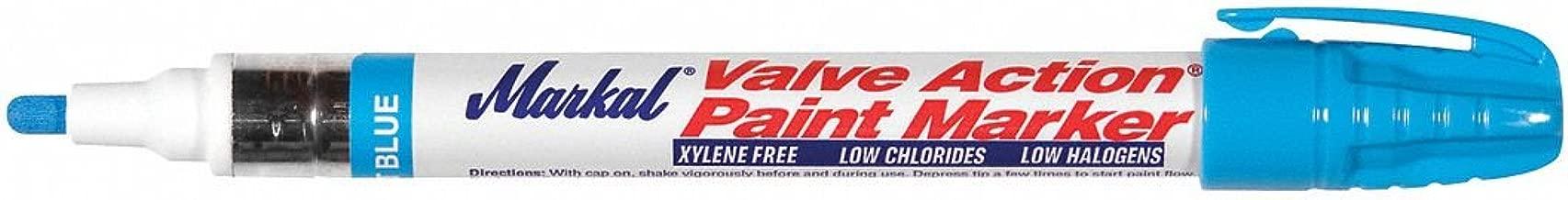 Paint Marker, Valve Action, Lt Blue