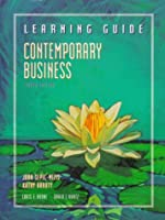 Contemporary Business: Learning Guide 0030151597 Book Cover