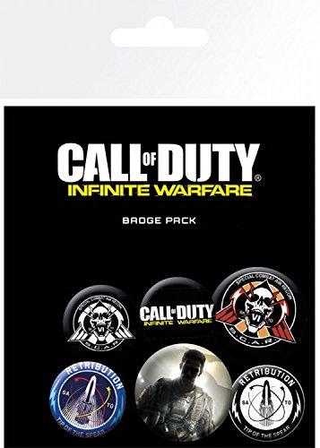 1art1 Call of Duty - Infinite Warfare, 4 X 25mm & 2...