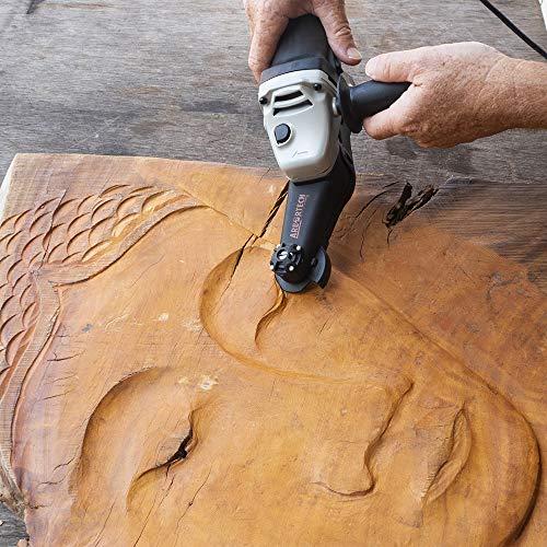ARBORTECH Mini Carver | Ø 50 mm Winkelschleifer zur Holzbearbeitung - 8