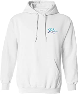 Koloa Surf Mens Tropical Flowers Logo Hooded Sweatshirts in Sizes Small-5X-Large