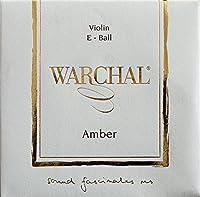Warchal Amber ワーシャル アンバー バイオリン弦 701B E-メタル ステンレススチール・ボールエンド【国内正規品】