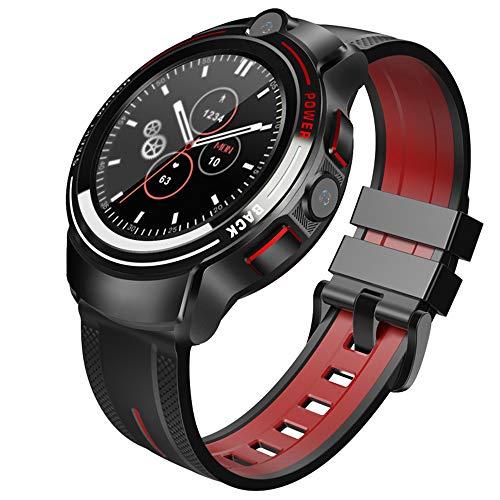 ERGGQAQ Reloj Inteligente, Reloj Inteligente con Pantalla Táctil Completa 1,39', Reloj Fitness Resistente al Agua IP68, con Notificación Mensajes, Mapa Monitor GPS