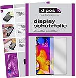 dipos I 3+3X Schutzfolie klar kompatibel mit LG V40 ThinQ Folie Bildschirmschutzfolie