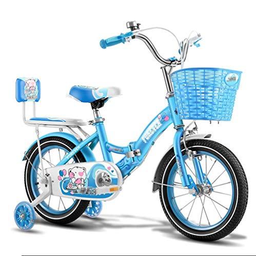 Kinderfiets, 2-12 jaar oud vouwfiets sport car buitentrolley, multifunctionele jongens-meisjes-fiets