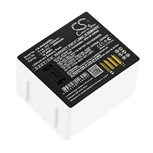 Cameron Sino Replacement Battery for Netgear 308-10069-01, A-4a,Arlo Ultra, Arlo Ultra 4K UHD, VMS5140, VMA5400-10000S 4800mAh / 18.48Wh