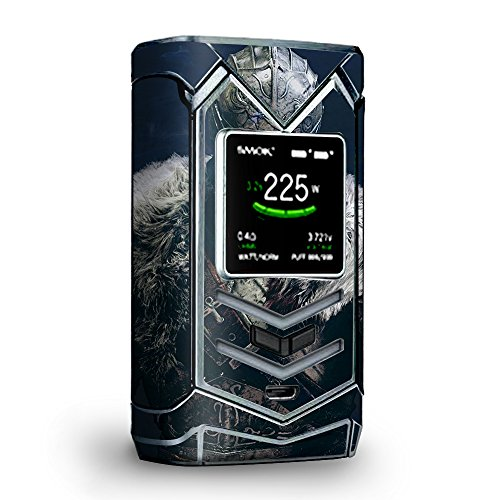 Skin Decal Vinyl Wrap for Smok Veneno 225W TC Vape skins stickers cover/ Armored Knight
