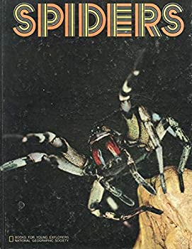 Hardcover SPIDERS by LILLIAN BASON National Geographic Society 1974 Hardcover Book