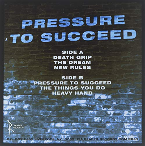 Pressure To Succeed