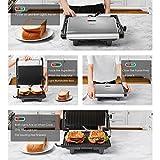 Zoom IMG-1 aicok panini maker griglia toastiera