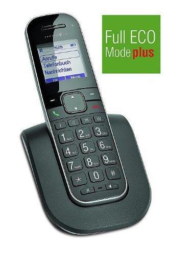 TELEKOM Sinus 205 Comfort Pack Grosstaste zus. Mobilteil inkl. 4 Direktwahltasten Telefonbuch Fuer bis zu 150 Kontakte