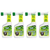 Simple Green Outdoor Odor Eliminator Hose End Sprayer for Pets, White, 32-Ounce (4 pack)