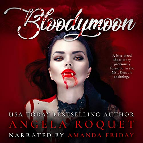 Bloodymoon audiobook cover art