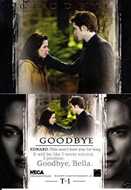 """Twilight New Moon Target Exclusive T-1 """"Goodbye"""" Trading Card"""