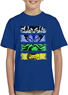 Cloud City 7 The Fight Goku Dragon Ball Z Kid's T-Shirt